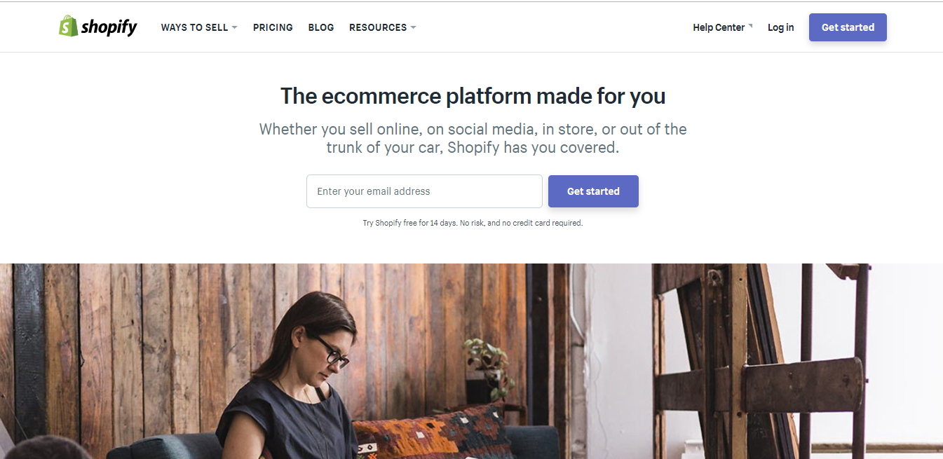 e-commerce platform for startups